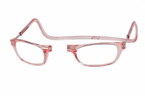 Clic Magnetic Reading Glasses in Pink