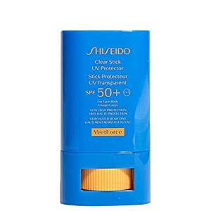 Shiseido Clear Stick UV Protector Broad Spectrum SPF 50+, 0.52-oz.