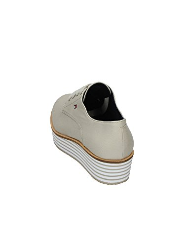 TOMMY HILFIGER sneakers mujer Textil beige / Fucsia Beige