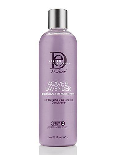 Conditioner Moisturizing Formula (Design Essentials Agave & Lavender Moisturizing, Detangling Conditioner, 12 Ounce)