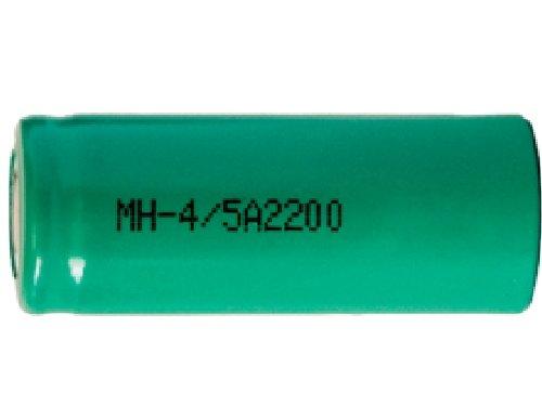 100 x 4/5 A NiMH Flat Top Batteries (2200 mAh)