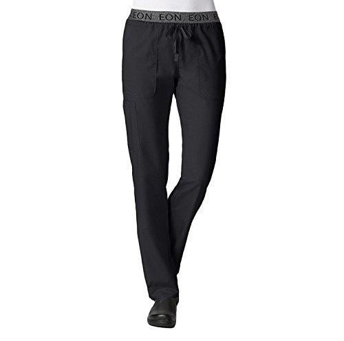 Maevn Women's EON Waistband 7-Pocket Cargo Pant, Black, L...