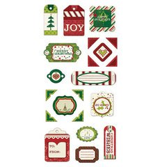 Peppermint Twist Layered Chipboard Tags By We R Memory Keepers (Tags Chipboard Layered)