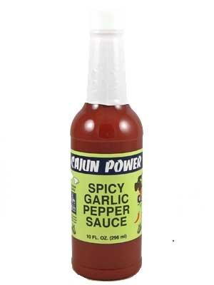 Cajun Power Spicy Garlic Pepper Sauce, 10 oz (Pack of 3) Cajun Power Spicy Garlic Sauce