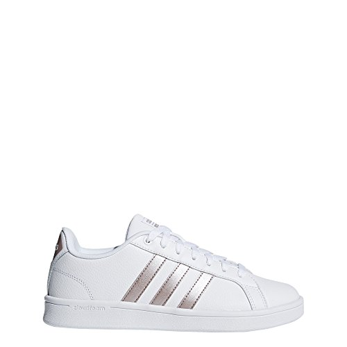 adidas Performance Women's CF Advantage W, White/Vapour Grey/White, 8 M US