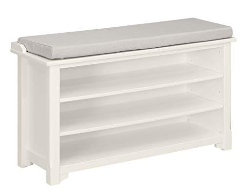 (Ravenna Home Radcliffe Upholstered Storage Bench, 40
