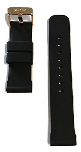 Original-Bulova-Marine-Star-24mm-Black-Rubber-Band-Strap-for-98B118-or-98B104