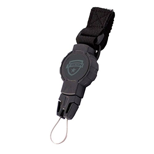 Great Scuba Gear - T-REIGN Small Scuba Gear Retractor with Velcro Strap and 24