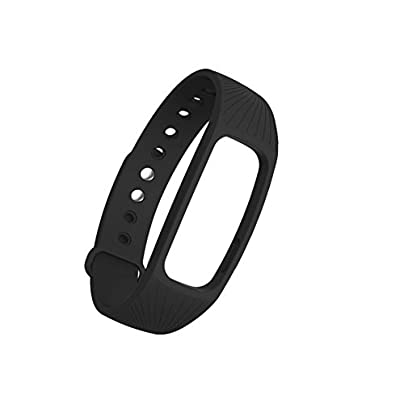 ZOOMY Fitness Tracker Heart Rate Monitor Strap Wristband For IPRO ID107 Smart Watch Black Estimated Price £9.06 -
