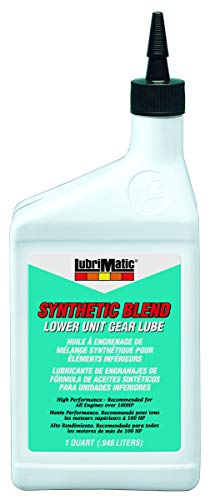 (Lubrimatic 11564 1 Pack Power Pro Synthetic Blend 80w/90 Marine Lower Unit Gear Lube, 1)