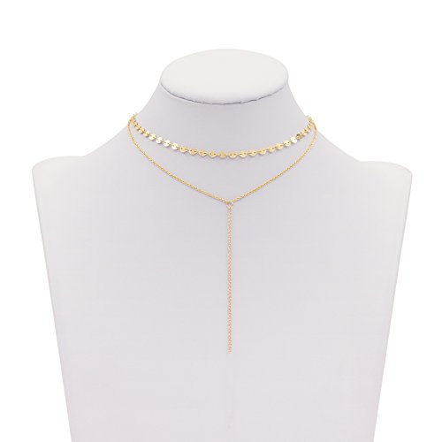 Boosic Adjustable Lariat Necklace Chokers