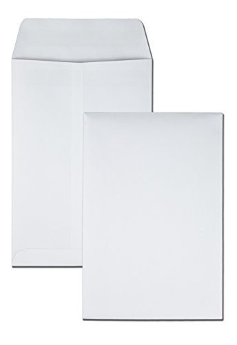 Quality Park 43317 Redi Seal Catalog Envelope, 6 1/2 x 9 1/2, White (Box of 100) ()