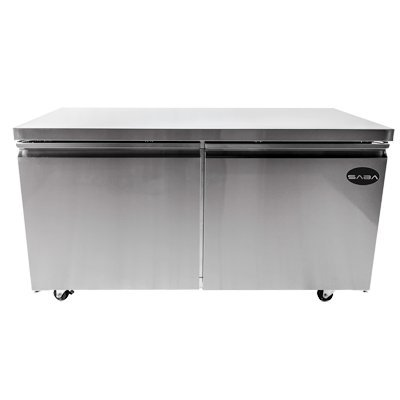 SABA Two-Section Under-Counter Refrigerator 60-1/4