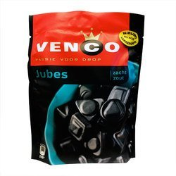 Imported Licorice - Jubes Zacht Zout Licorice 8.47oz licorice bits by Venco