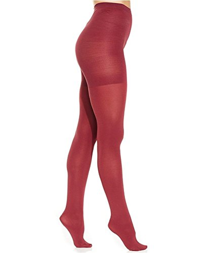 Tights Spanx Nylon - SPANX Star Power by Center-Stage Shaping Brief Tights (E, Deep Ruby)