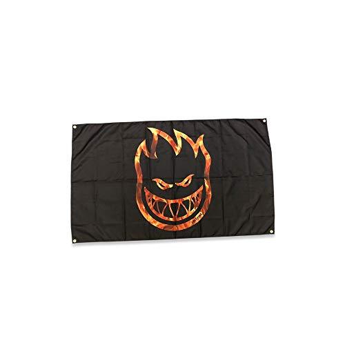- Spitfire Wheels Bighead Flame Hellfire Cloth Banner 36