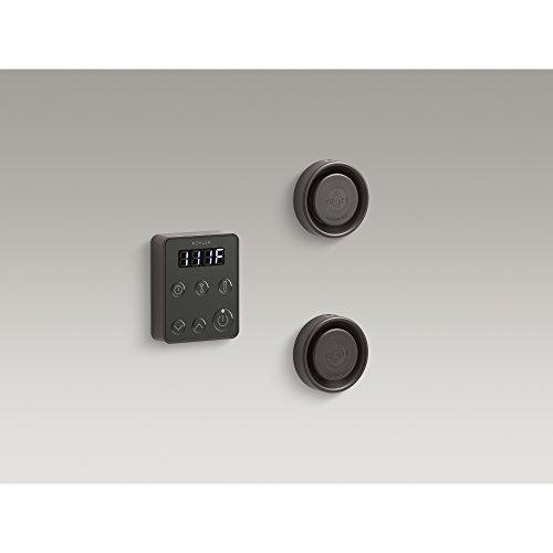 KOHLER 5558-2BZ Invigoration Series Tandem Steam Generator Control Kit, Oil-Rubbed Bronze
