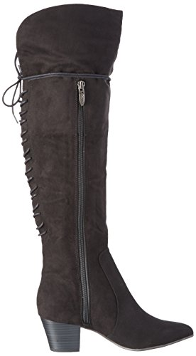 black Black 001 25512 Tamaris Boots Women's Long Schwarz n1xTZU