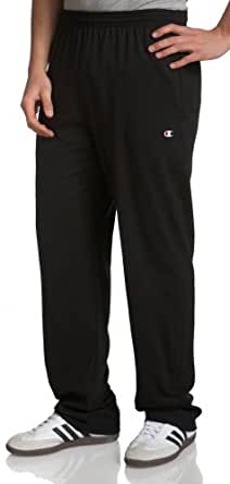 Champion Men's Jersey Pant,Black,Small