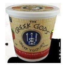 Greek Gods Honey Strawberry Greek Yogurt, 24 Ounce - 6 per case.