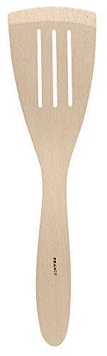 French Beechwood Slotted Spatula, 12-Inches, Made in France ()
