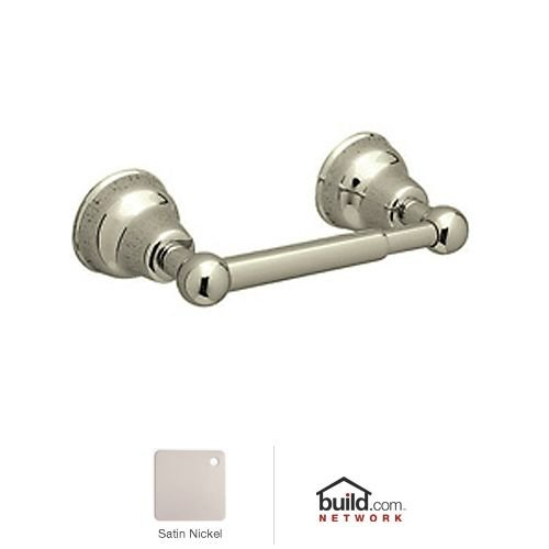 Rohl CIS18STN Single Spring Loaded Toilet Paper Holder in Satin Nickel by Rohl