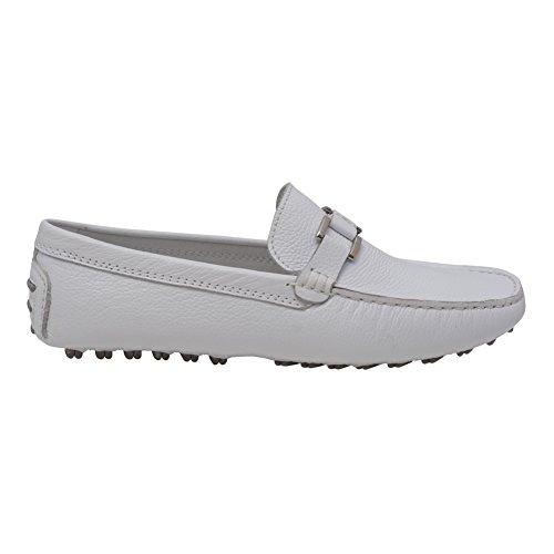 L'Amour Women White Lug Sole Casual Trendy Loafers Shoes 6 -10 Women's JPHmvN