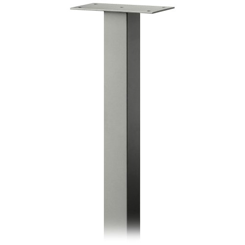 Designer Roadside Mailbox - Salsbury Industries 4385D-NIC Standard Pedestal In-Ground Mounted for Designer Roadside Mailbox, Nickel