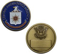 Cia Central Intelligence Agency United States of America - Challenge Coin