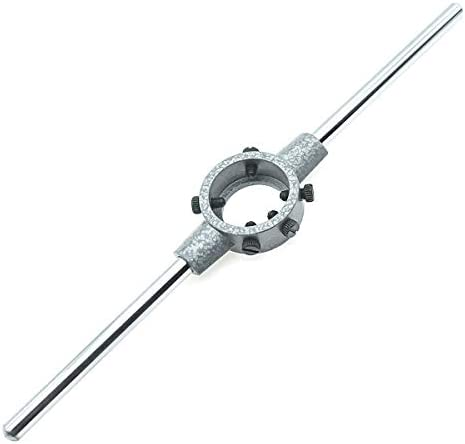 1Pcs Adjustable Metal 38mm Diameter Die Handle Round Stock Holder Wrench