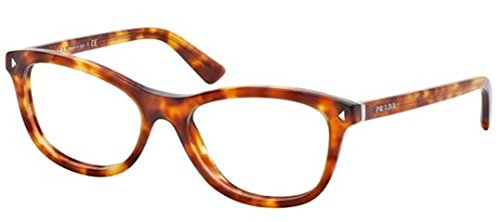 Prada PR05RV Eyeglasses-4BW/1O1 Light Havana-53mm -