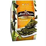 Annie Chun's Roasted Seaweed Snacks, Sesame, 12 pk 0.35 oz (10 g)