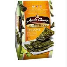 Annie Chun's Roasted Seaweed Snacks, Sesame, 12 pk 0.35 oz (10 g)