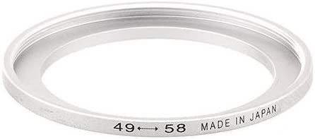 Adorama Step-Up Adapter Ring 30mm Lens to 37mm Filter Size