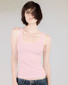 Alternative Ladies' 4.7 oz. Beater Tank, Pink, S