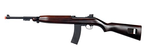 360 FPS WWII Spring Action M1 Carbine Airsoft Sniper Rifle Gun w/Faux Wood Finish