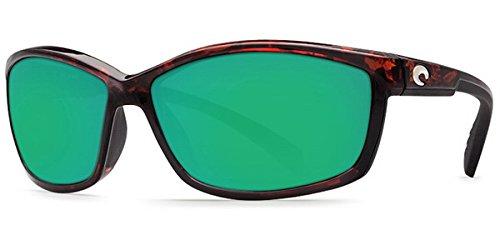 Costa Del Mar Manta 580G Manta, Tortoise Frame Green Mirror, Green Mirror