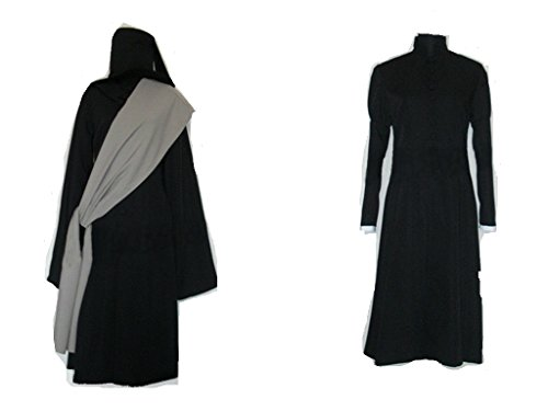 Mister Bear Black Butler Kuroshitsuji Undertaker Cosplay Costume with hat -