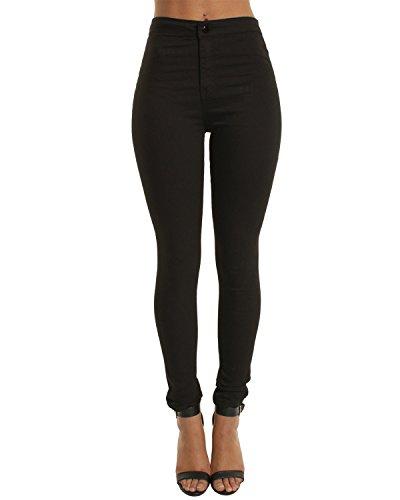 Black Trouser Jeans - 1