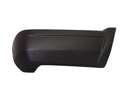 1997-2001 Jeep Cherokee Rear Bumper End Rh Black Textured CH1105139