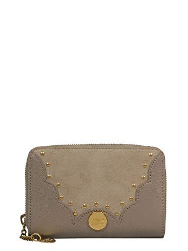 - See By Chloé Women's Chs18wp83330623w Beige Leather Wallet