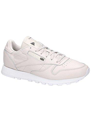 Reebok Damen Classic Leather X Face Sneaker Grau (Lilac Ashwhiteblack)