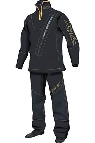 J-FISH ジェイフィッシュ メンズ WET DRY SUITS-ウェットドライスーツ-(スモールジッパータイプ) 黒×ゴールド JWD-39210 黒×ゴールド ML