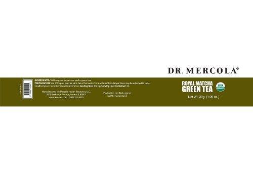 Dr. Mercola Royal Matcha Green Tea - Mercola Matcha Green Tea Powder