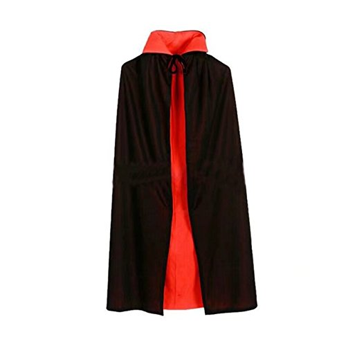 BlueGarlic Adult Halloween Party Cape Hooded Cloak Role Cape Play Costume Full Length -