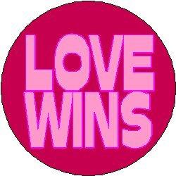 Pinback Love Button (LOVE WINS 1.25