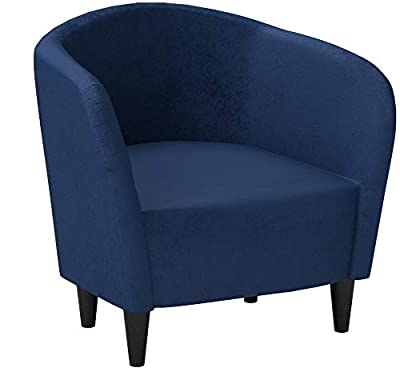 Mainstays Microfiber Tub Lightweight Accent Chair