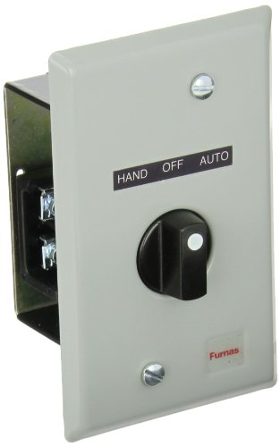 Siemens 50AA2C3 Flush Mount Cover Plate, 3 Position Selector Switch,
