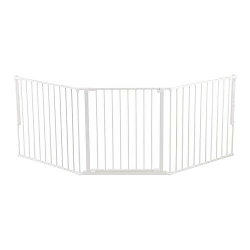 BabyDan Flex Gate Large 35.4-87.8″-White For Sale