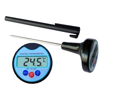 Accurate Instant Read Thermometer for cooking and barbecue from GzakWare offer Electronic Waterproof Digital Thermometers with